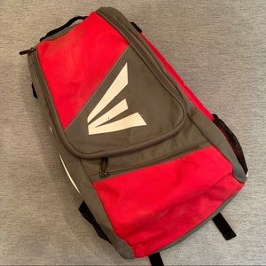Easton red Baseball bag.